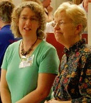 Helen Osborn & Sherry Irvine, London, 2007